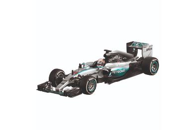 Mercedes Amg Petronas Formula One Lewis Hamilton, 2015, 1:4