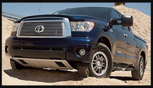2007-2013 Tundra - Front Skid Plate, Large Engine Under Cover (Large Engine, 4WD Models Only)