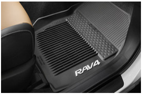 2013-Up RAV4 3 Piece All-Weather Tub-Style Mats
