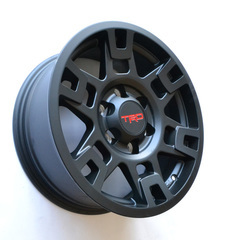 TRD 17'' Matte Black Wheel - TRD SEMA