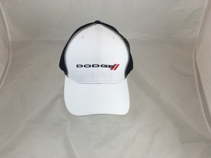 Black and White Dodge Hat