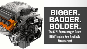 Complete Hellcat 6.2 Engine