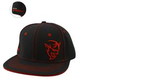 Demon Hat Flat Bill