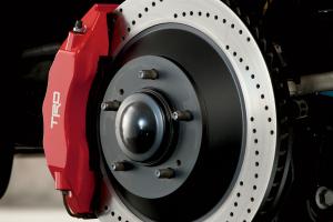 Trd Brake Rotor - Front - Left