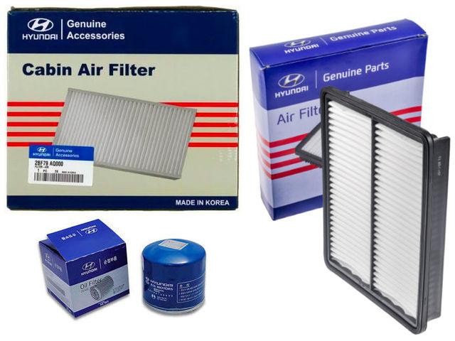Air, Cabin & Oil Filter