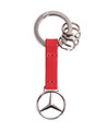 Red Leather Strap Key Ring