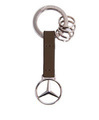 Brown Leather Strap Key Ring