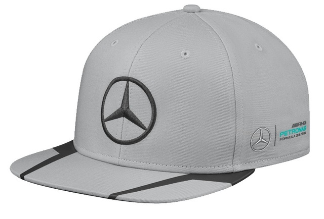 MBC-387-GY - HAMILTON 2015 FLAT BRIM- GENUINE MERCEDES-BENZ OEM PARTS