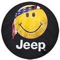 JEEP SMILEY FACE SPARE TIRE COVER - MOPAR (82212305AB)