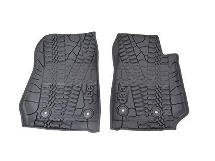Floor Slush Mats Jeep Wrangler 14-18 MOPAR 82213861