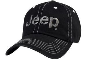 Jeep Logo Cap Black & Gray