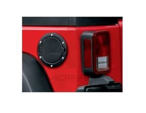 JEEP WRANGLER BLACK FUEL FILLER DOOR