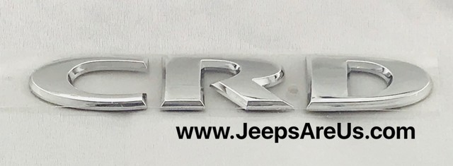 CRD BADGE DECAL NAMEPLATE