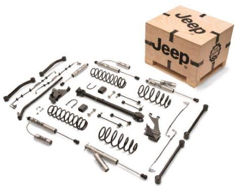 "Jeep 4"" Lift Kit with Fox Shocks Mopar"