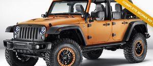 Jeep Wrangler Half Door Kit  2007-2016 Mopar