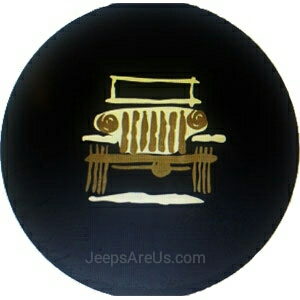 Mopar 82213864 Wrangler Cartoon Tire Cover