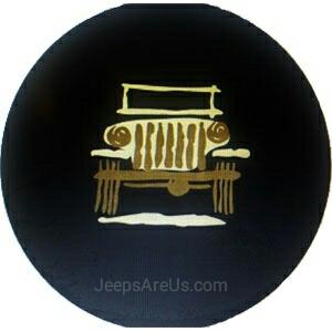 Mopar 82213864 Wrangler Cartoon Tire Cover