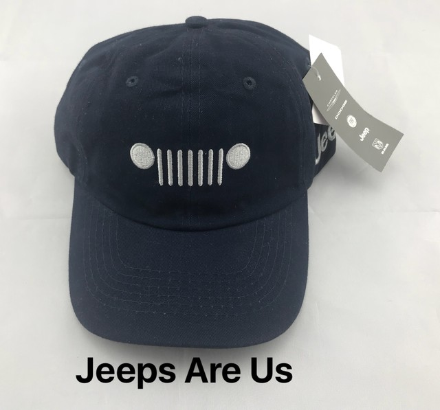 Jeep Grille Cap Navy Blue