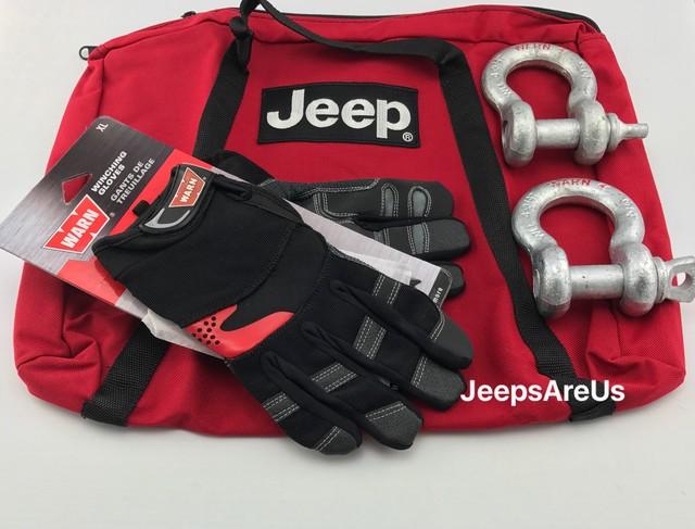 JEEP TRAIL RATED ROADSIDE SAFETY KIT - MOPAR