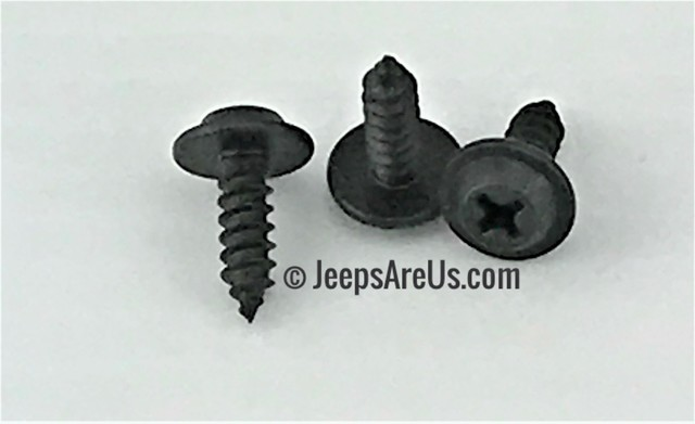 Jeep Interior Door Panel Screws