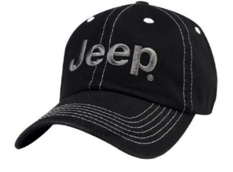 Jeep Logo Cap Black & Gray