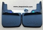 JEEP WRANGLER REAR DELUXE MOLDED SPLASH GUARDS