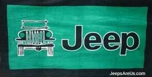 Jeep BEACH Towel