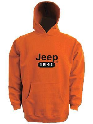 Jeep 1941 Orange Hoodie