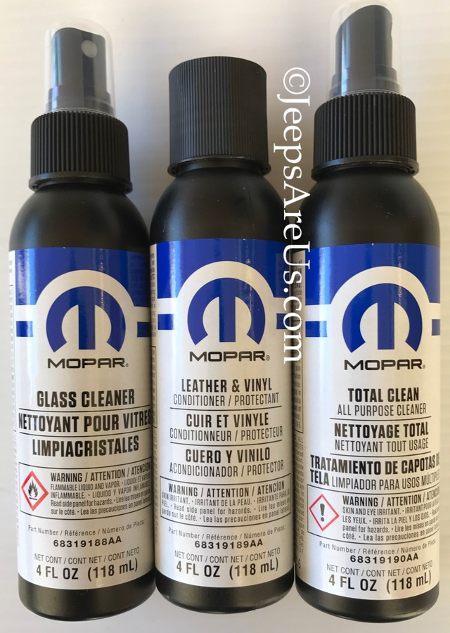 Mopar Vehicle Cleaner Kit