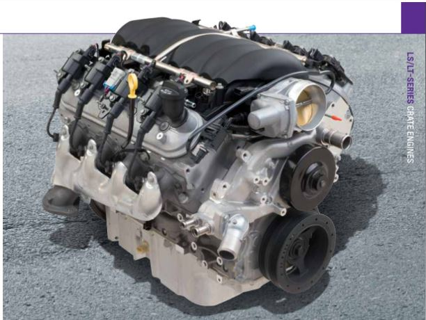 Chevrolet Performance LS376/480 495HP Hot Cammed LS3