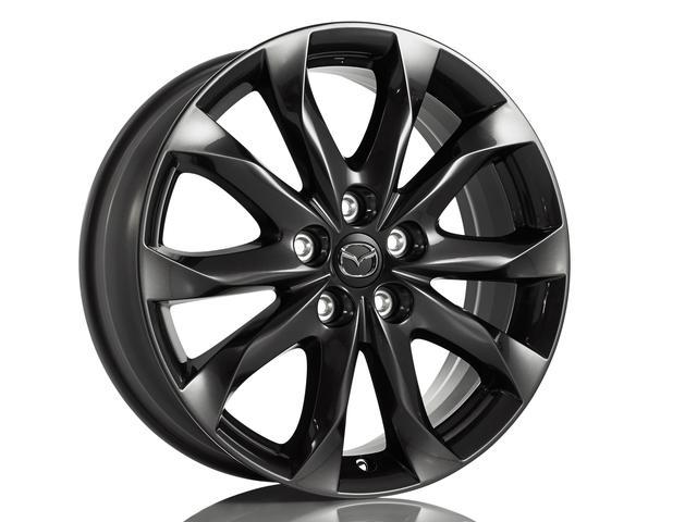 Alloy Wheel 18 Gunmetal Mazda 3 4dr And 5dr 2014 2018 Mazda