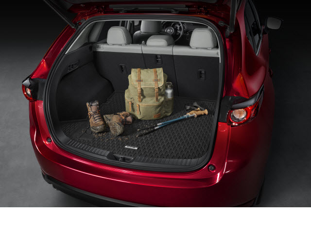 Genuine OEM Cargo Tray Rubber All Weather (2017-2019 CX-5)   ( IN STOCK NOW )