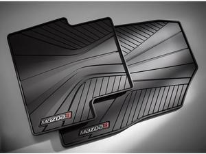 Floor Mats, All-Weather - 2014-2018 Mazda3 - (4) back in stock by 11/30/18