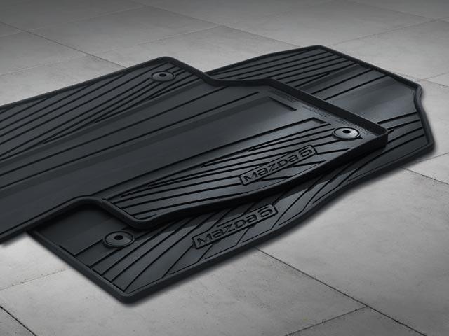 Floor Mats, Rubber All-Weather 2014-2019 Mazda6 (Set of 4)