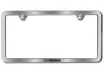 License Plate Frame W/ Mazda Logo, Slimline
