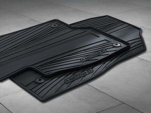 Floor Mats, Rubber All-Weather 2014-2018 Mazda6 (Set of 4)
