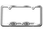 License Plate Frame W/ Zoom-Zoom Logo