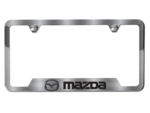 License Plate Frame W/ Mazda Logo