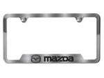 License Plate Frame, Mazda Logo