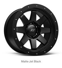 "17"" MATTE BLACK SR8"