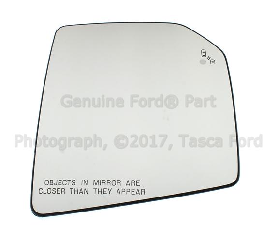 Ford F  Rh Right Passenger Side L E D Lamp Mirror Glass