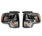 HARLEY DAVIDSON/RAPTOR HEADLIGHT SET | 2009-2014 F-150
