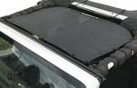 Alien Sunshade Jeep Wrangler JKF Provides UV Protection for Your 2-Door or 4-Door JK or JKU (2007-2017)