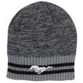MUSTANG STRIPED KNIT BEANIE