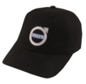 VOLVO BLACK BRUSHED TWILL CAP