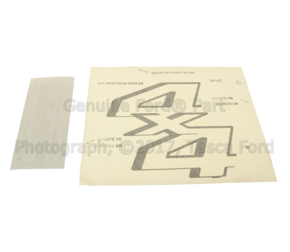 Genuine Ford Decal BC3Z-9925622-AE
