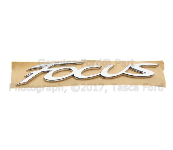 Ford Focus Deck Lid Emblem on