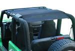 Alien Sunshade Jeep Wrangler TJFB Mesh Bikini Top Cover Provides UV Protection for Your TJ (1997-2006)