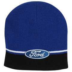 Ford Striped Knit Beanie