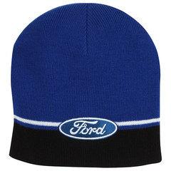 Ford Striped Knit Beanie